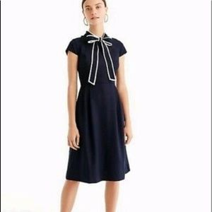 Jcrew tie dress